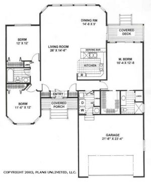 Beachfront Floorplan